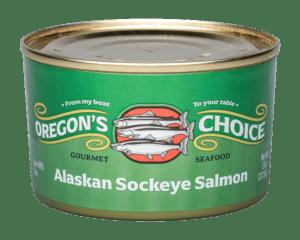Alaskan Sockeye Red Salmon