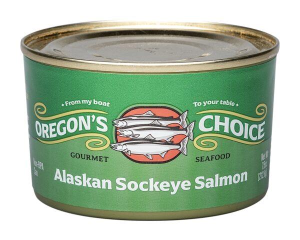 Alaskan Sockeye Salmon