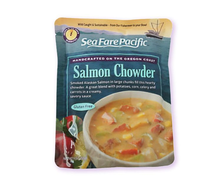 Gourmet Packaged Salmon Chowder