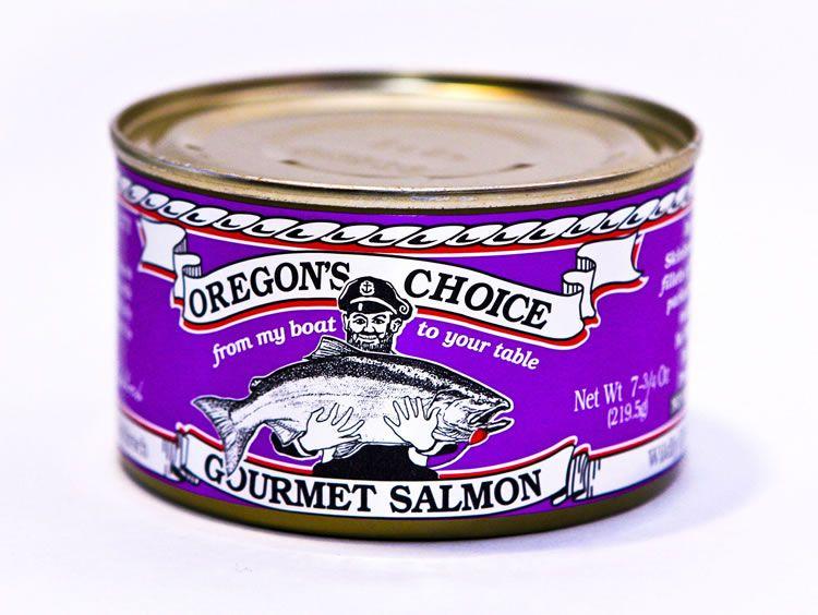 Royal Chinook Salmon No Salt Added 7.5 oz.