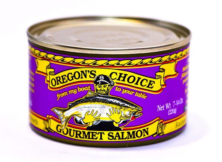 Royal Chinook Salmon Lightly Salted 7.5 oz.