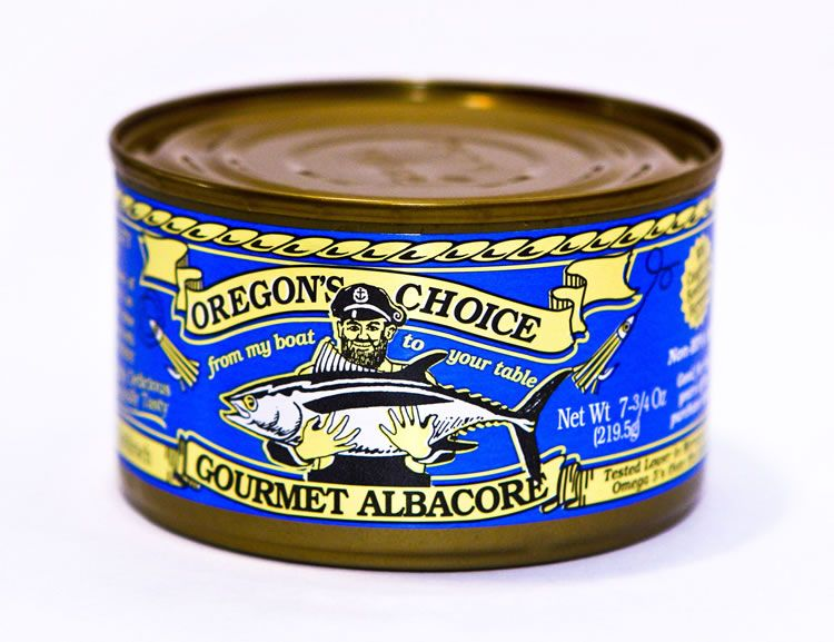 Gourmet Albacore Tuna Lightly Salted 7.75 oz.