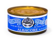 Gourmet Albacore Tuna No Salt Added 6 oz.