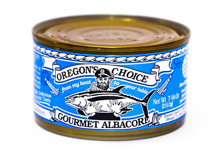 Gourmet Albacore Tuna No Salt Added 7.5 oz.