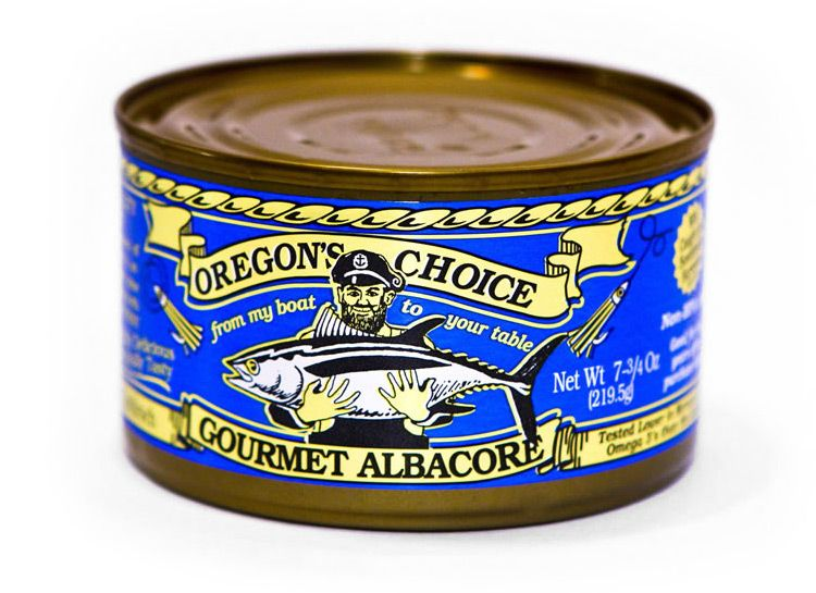 Gourmet Albacore Tuna Lightly Salted 7.5 oz.