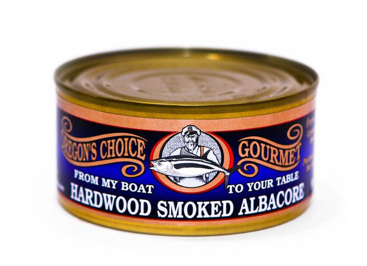 Alderwood Smoked Albacore Tuna 6 oz.
