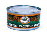 Smoked Pacific Oysters 7.5 oz.