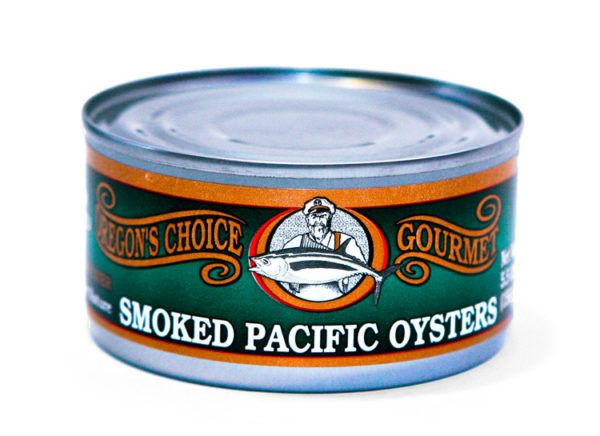 Smoked Pacific Oysters